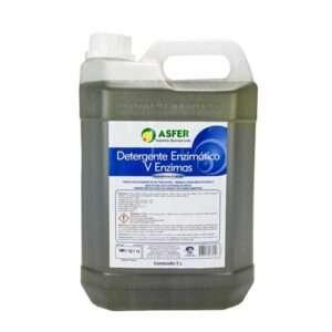 Detergente Enzimático - 5 Enzimas - 5 Litros